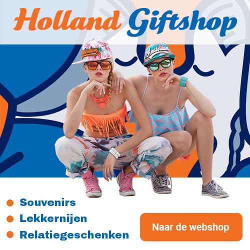 collectie van Hollandse souvenirs.