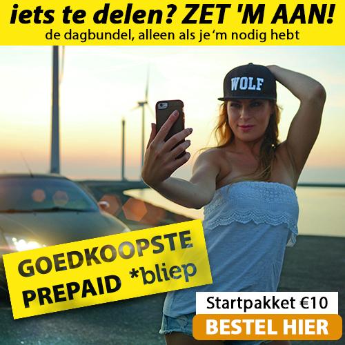 Ontvang bij Bliep een gratis Simkaart en nummerbehoud. Dit is de goedkoopste prepaid aanbieder van Nederland. Bij Bliep geldt niet gebruiken is niet betalen.