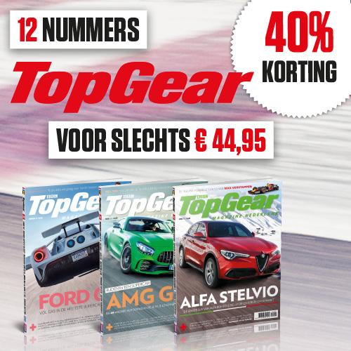 TopGear abonnement 1 jaar met 40% korting