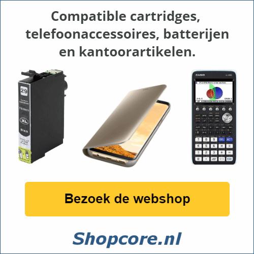 Shopcore.nl, Computer batterijen, Telefoonaccessoires, Kantoorartikelen, Online Bestellen!