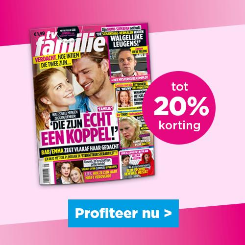 TV FAMILIE, tot 20% korting, Profiteer NU!