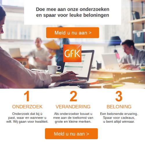 spaarprogramma GFK