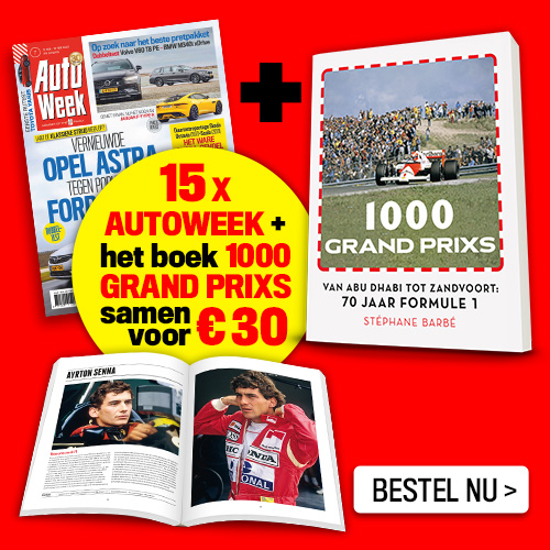 Afbeelding van Autoweek + 1000 Grand Prix Formule 1
