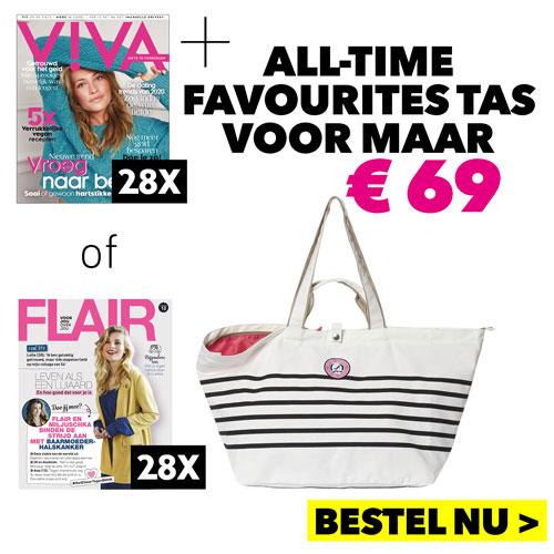 Afbeelding van Viva of Flair Magazine + Gratis tas