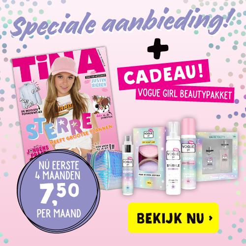 Afbeelding van Tina + Gratis VOGUE Girl Pakket