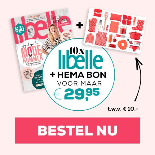 Afbeelding van Libelle + HEMA Cadeaubon van € 10