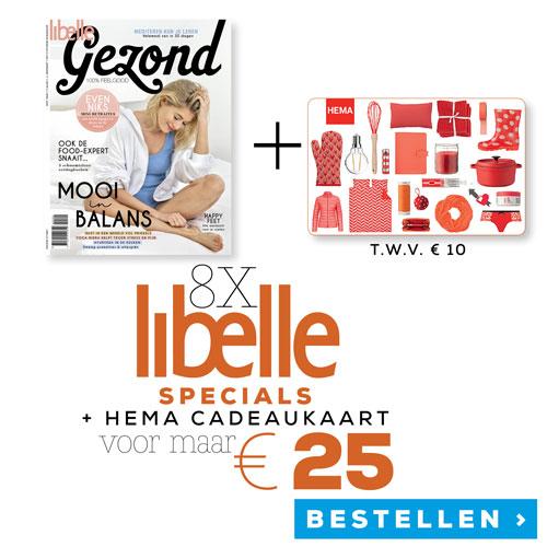 Afbeelding van Libelle Specials + HEMA Cadeaubon van € 10