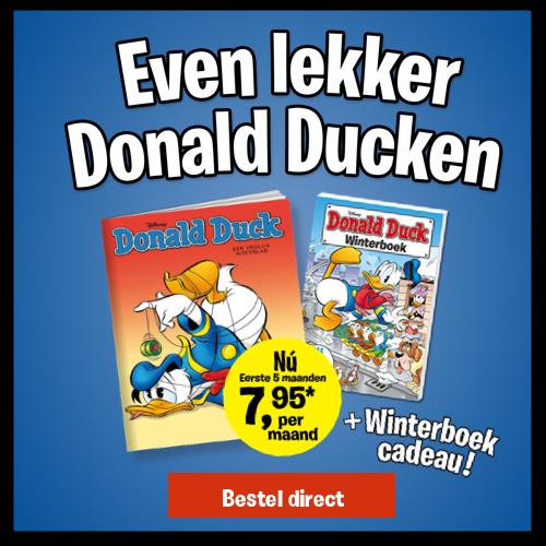 Afbeelding van Donald Duck + Winterboek