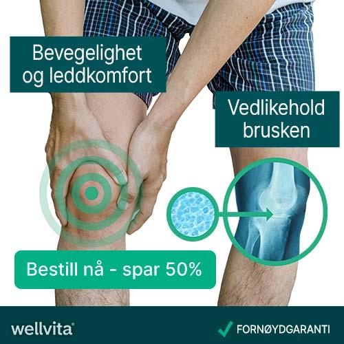 Wellvita fremstiller produkter som bidrar til økt livskvalitet.