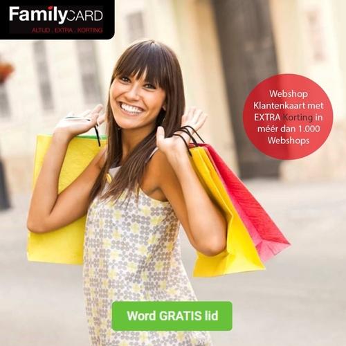 Familycard Bespaar Bij Meer Dan 1000 Webshops! 3