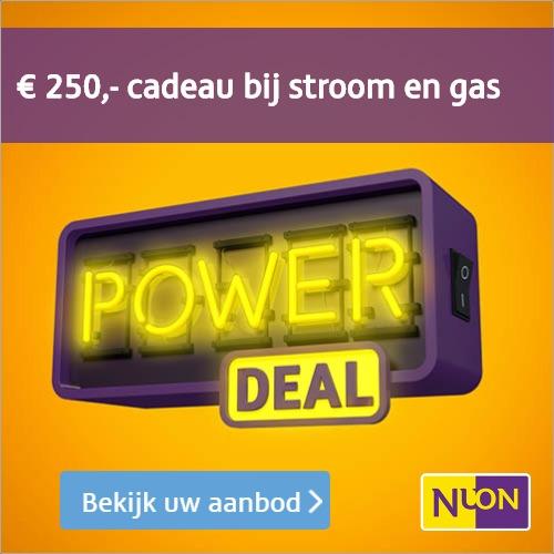 Goed nieuws!Maak een overstapt naar Nuon voor een 3-jarig contract en ontvang bij Nuon een gratis cadeau tussen € 250,- en € 320.-. Start vandaag nog met besparen!