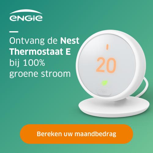 Engie + Gratis NEST Thermostaat