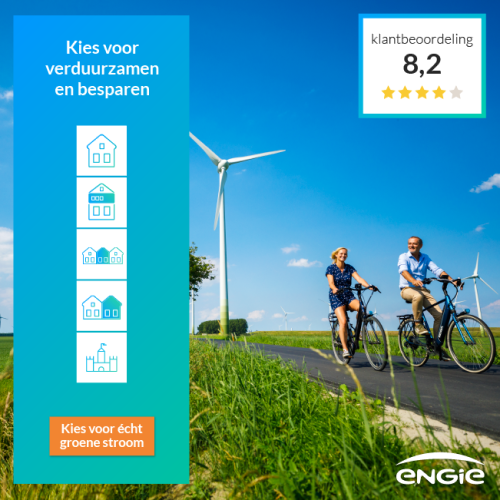 Engie + Gratis NEST Thermostaat