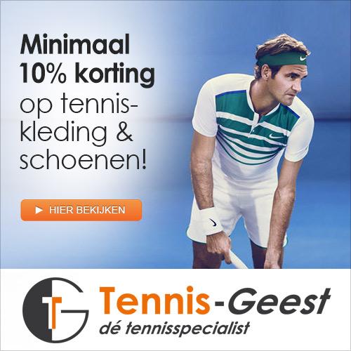 Tennis geest tennisartikelen