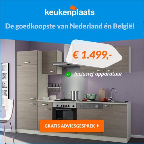 Keukenplaats : Niet de bekendste van radio en TV, maar daardoor wel de goedkoopste!