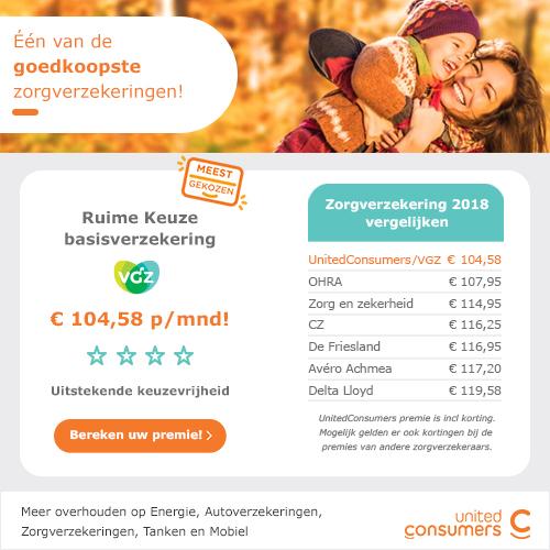 UnitedConsumers zorgverzekering met een lage basispremie. EenGoedkope zorgverzekering met uitstekende voorwaarde.Basisverzekering slechts €104.58.