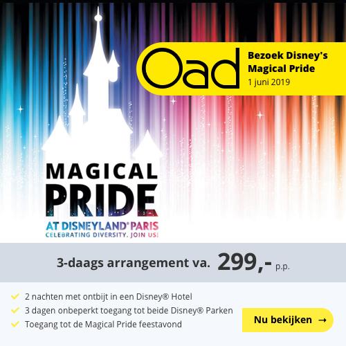 Magical Pride At Dsneyland Parijs