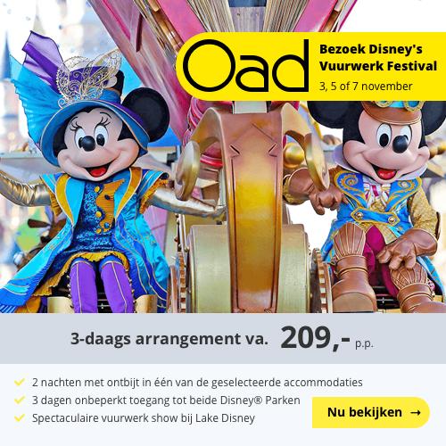 Disney's Magische Vuurwerk Festival 2019