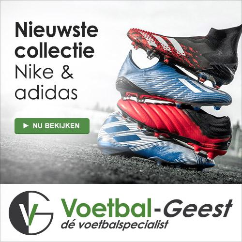 dé specialist in voetbalschoenen, voetbalkleding voetbaltassen, voetballen, keeperskleding en keepershandschoenen.