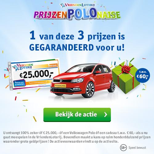 PrijzenPOLOnaise | Win 1 van 25 Volkswagen Polo's en meer!