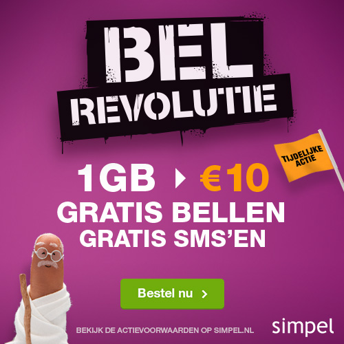 Simpel - All-in SIMonly voor 10 euro per maand