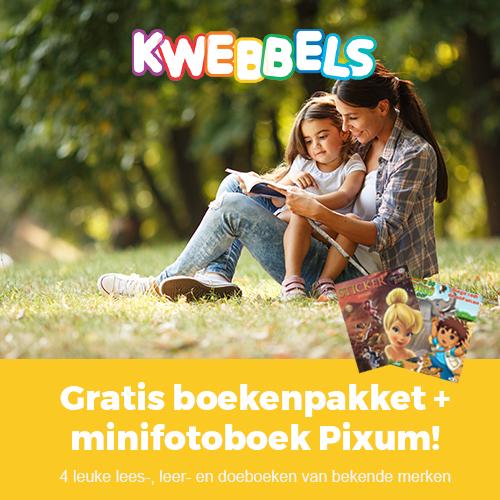 Kwebbels kinderboeken | Gratis proefpakket + minifotoboek