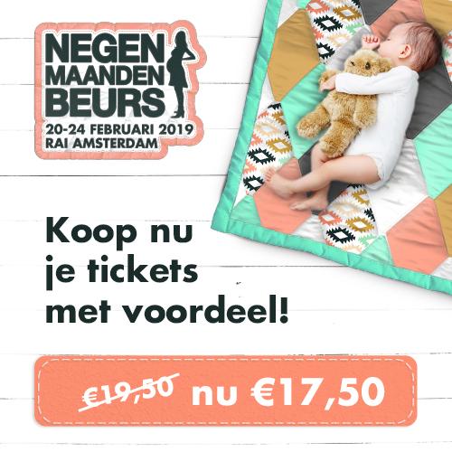 Win Prenatal cadeaukaart t.w.v. € 250.- voor Negenmaandenbeurs