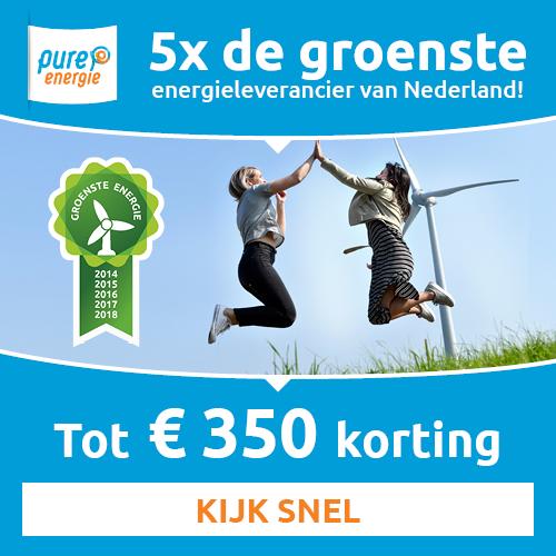 Stroom vergelijken | Bij Pure Energie € 350.- korting!