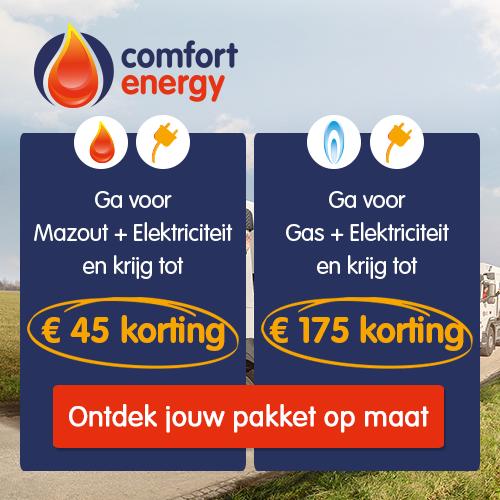 Comfort Energy is al 40 jaar de grootste verdeler van kwaliteitsmazout in heel België. Sinds 2015 verdeelt Comfort Energy ook elektriciteit en gas.