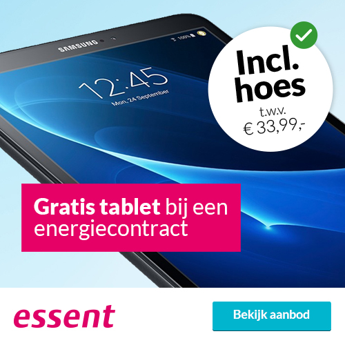 Gratis Samsung Galaxy tablet bij Essent contract