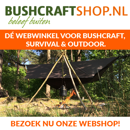 Bushcraftshop is dé webwinkel voor bushcraft, survival & outdoor! voor iedereen die geniet van natuurbeleving. Mensen als bushcrafters, survivallaars, wandelaars, jagers, natuurfotografen, vogelaars, cross country sporters, hikers, onderzoekers en (hobby)biologen